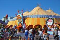Seuss Landing in Universal Orlando, FL, USA. Seuss Landing in Islands of Adventure of Universal Orlando, Florida, USA royalty free stock photos