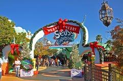 Seuss Landing in Universal Orlando, FL, USA. Seuss Landing in Islands of Adventure of Universal Orlando, Florida, USA royalty free stock images