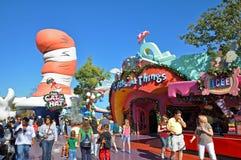 Seuss Landing in Universal Orlando, FL, USA. Seuss Landing in Islands of Adventure of Universal Orlando, Florida, USA stock image