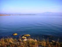 sevan亚美尼亚的湖 免版税图库摄影