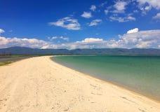 sevan的湖 免版税图库摄影
