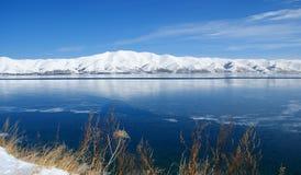 sevan armenia lake Royaltyfri Bild