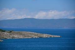 Sevan e montagne Fotografia Stock