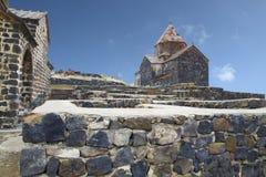 Sevan-Kloster in Armenien Lizenzfreies Stockbild