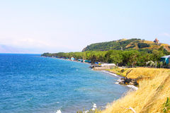 Sevan lake Royalty Free Stock Photography