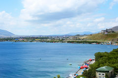 Sevan lake Stock Images
