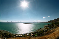 sevan lake Arkivfoton