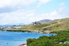 Sevan lake Stock Photos