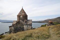 Sevanavank. An ancient monastery in Armenia Royalty Free Stock Image