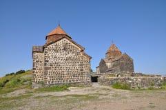 Sevanavank i Armenien Arkivfoto