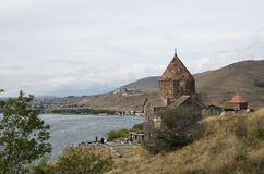 Sevanavank kloster Arkivfoton