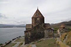 Sevanavank kloster Fotografering för Bildbyråer