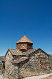 Sevanavank and lake Sevan Royalty Free Stock Image