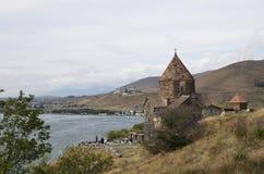 Sevanavank monastery. An ancient monastery in Armenia Stock Photos