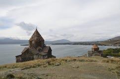 Sevanavank monastery. An ancient monastery in Armenia Stock Image