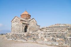 Sevanavank Monastery, Gegharkunik Province of Armenia. Sevanavank is a monastic complex located on a peninsula at the north western shore of Lake Sevan in Royalty Free Stock Image