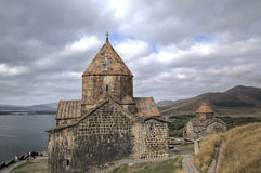 Sevanavank monastery. Lake Sevan, Armenia Stock Photo