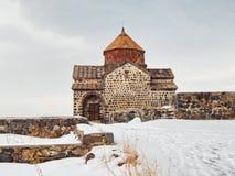 Sevanavank - a monastery (the 9th century) on the shore of Lake Sevan in Armenia. royalty free stock photography