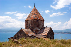 Sevanavank Monastery. Sevanavank was founded in 874 by Princess Mariam the daughter of King Ashot I. Sevanavank Monastery has played a crucial role in Armenian Royalty Free Stock Photo