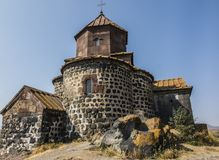 Sevanavank is a monastic complex located on the northwest coast Royalty Free Stock Image