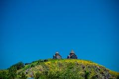 Sevanavank sulla collina Fotografia Stock