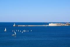 Sevastopol bay. Konstantinovsky Ravelin view. Crimea. Royalty Free Stock Images