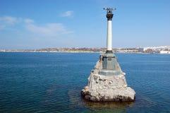 Sevastopol.Crimea, de Oekraïne royalty-vrije stock foto