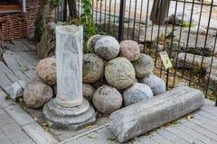 SEVASTOPOL, CRIMEA - SEPTEMBER 2014: Historical and Archaeological Museum-Reserve `Chersonese Taurian` stock photography