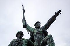 SEVASTOPOL CRIMEA, WRZESIEŃ, - 2014: Zabytek bohaterscy obrońcy Sevastopol fotografia royalty free