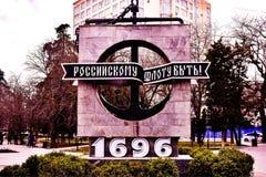 Sevastopol 2019 mar?o ensolarado fotografia de stock royalty free