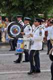 Sevastopol Military Tattoo 2013. Parade of military orchestras Sevastopol Military Tattoo 2013 Stock Photography