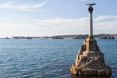 Sevastopol Monument to the scuttled ships Royalty Free Stock Image