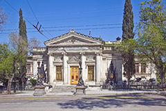 Sevastopol. Museum of the History of the Black Sea Fleet of Rus. The museum was opened in 1869. In 1895 it was rebuilt and preserved to this day stock images