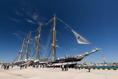 Sevastopol 2014.sailing ship «Kruzenshtern» Stock Images
