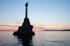 Sevastopol sea bay Stock Photo
