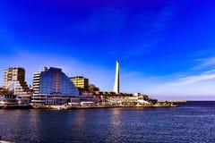 Sevastopol 2019 soliga mars arkivfoto