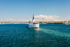 SEVASTOPOL, UKRAINE - AUGUST 24. Ship Adriana Royalty Free Stock Images