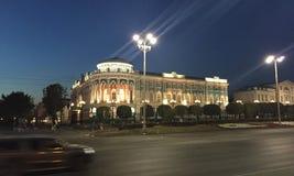 Sevastyanov& x27 ; maison de s à Iekaterinbourg Images libres de droits