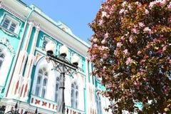 Sevastyanov`s House, Ekaterinburg, Russia Royalty Free Stock Photography