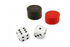Seven And Seven Dice Stock Image