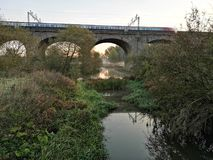 Seven arches in wolverton, Buckinghamshire royalty free stock photo