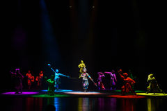 "Seven color light-Children's Beijing Opera""Yue teenager"" Royalty Free Stock Image"