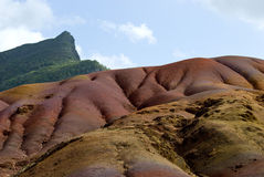 Seven Colored Earth 2 - Mauritius Royalty Free Stock Photo
