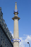 Seven Dials Sundial Pilar in London Royalty Free Stock Photo