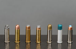 Assortment of bullets Stock Image