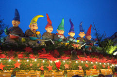 The Seven Dwarfs Royalty Free Stock Photo
