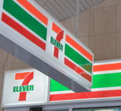 Seven Eleven logo Royalty Free Stock Images