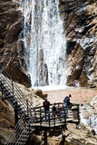 Seven Falls in Colorado Springs Stock Photo