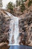 Seven Falls Waterfall in colorado Springs Stock Photos
