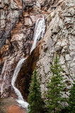 Seven Falls Waterfall in colorado Springs Royalty Free Stock Photography